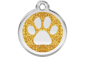 Red Dingo pet tags